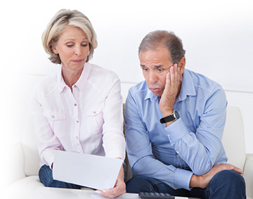 a couple experiencing a wage levy